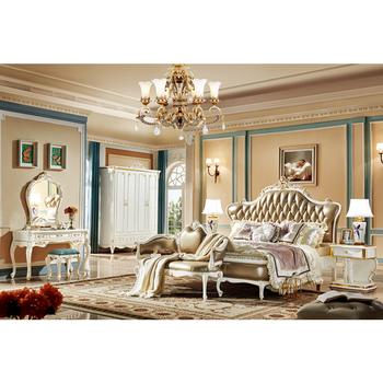American Retro Style Luxury Bedroom Furniture Designs Fancy King Bed Set Buy At The Price Of 1 498 00 In Aliexpress Com Imall Com