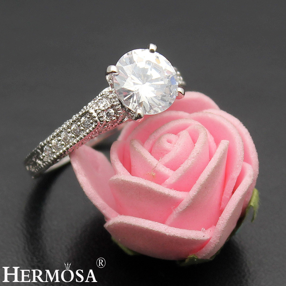 BIG PROMOTION Romantic LOVE GIFT Hermosa Fashion Jewelry White ...