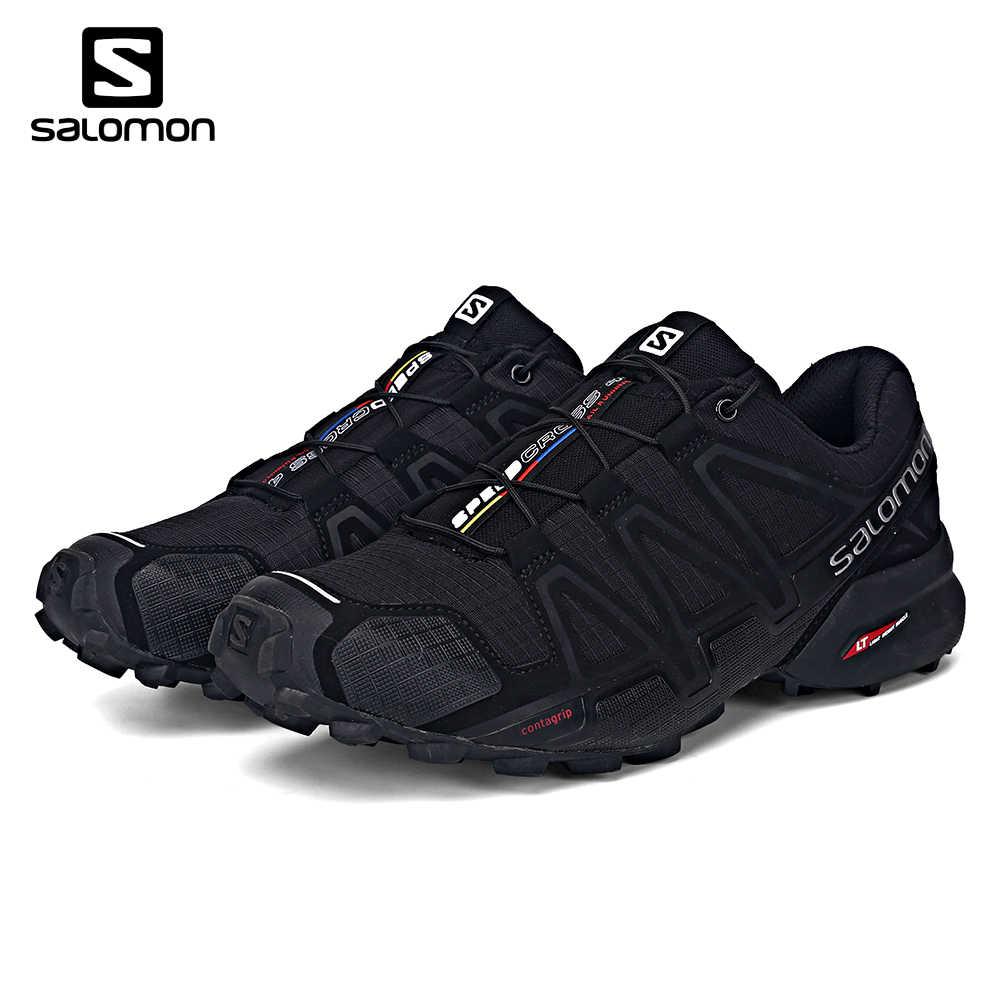 2018 newSalomon Speedcross 4 men Sport Outdoor Shoes Athletic Speed Cross 4  male Fencing Running Zapatillas 811123543