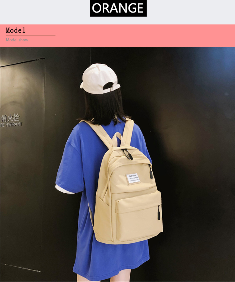 HTB105qba.GF3KVjSZFmq6zqPXXaY 2019 New Backpack Women Backpack Fashion Women Shoulder nylon bag school bagpack for teenage girls mochila mujer