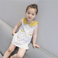 Baby Dress Children Summer Wear Girl A Doll Lead Vest Skirt New Pattern Small Children S