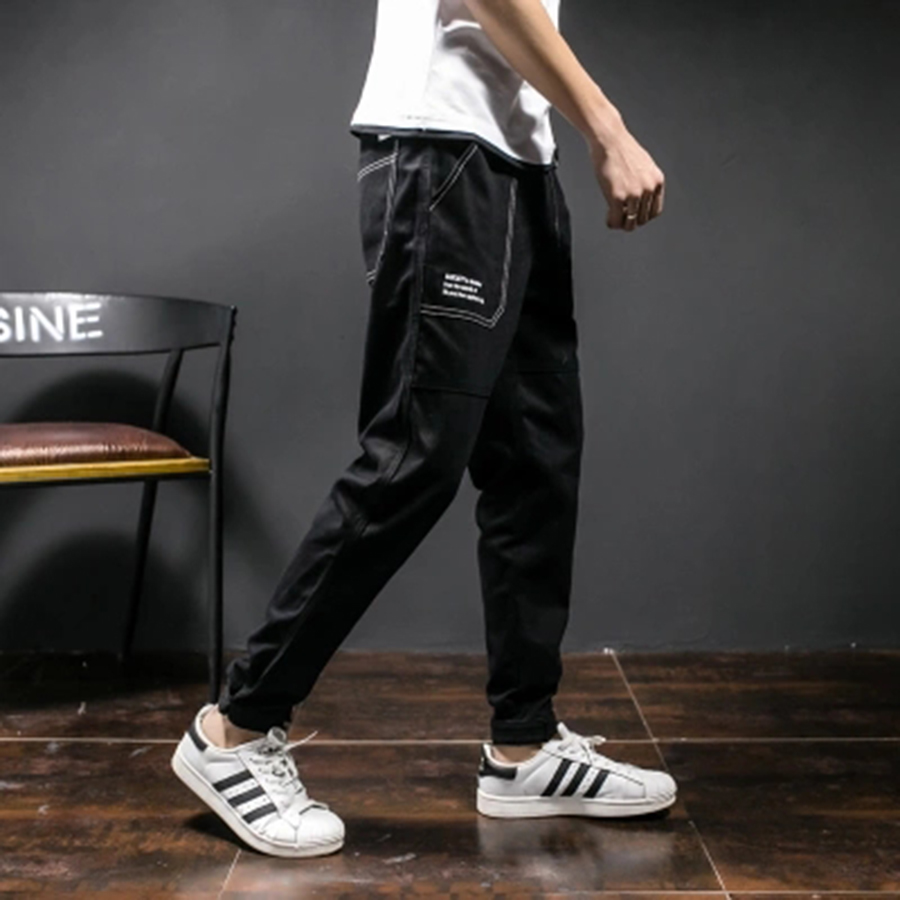 Slim Fit mode poche 2018 pantalon décontracté homme 5XL coton Harem Slacks neuf pantalon Hiphop Clothespantalon Camouflage camo pantalon hommes