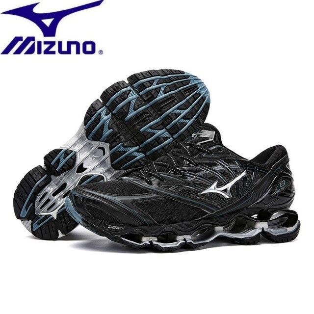 Alta Qualidade Original MIZUNO WAVE Profecia 8 Homens profissionais sapatos de Malha tênis de corrida ao ar livre Sapatos De Halterofilismo Tamanho 40-45