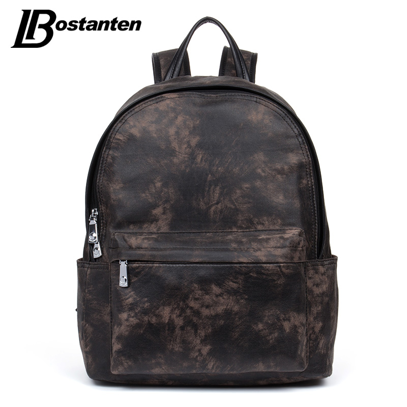 BOSTANTEN New High quality Backpack Male 13 Laptop School Bags Unisex Small Backpacks Schoolbag Travel Anti Theft Computer Bag 13 laptop backpack bag school travel national style waterproof canvas computer backpacks bags unique 13 15 women retro bags