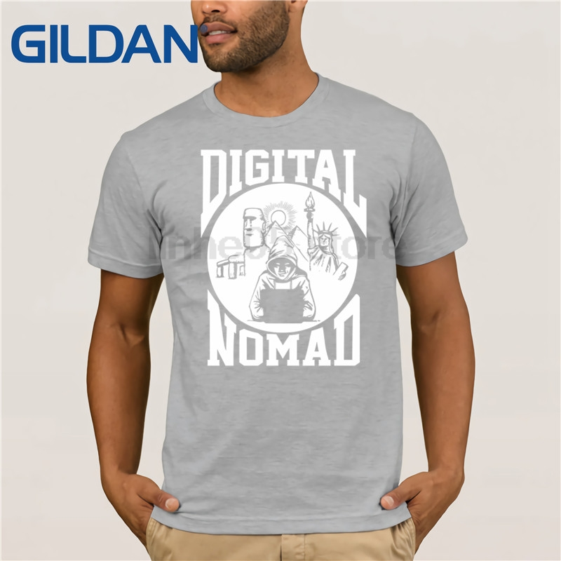 GILDAN Computer Nerd T Shirt Digital Nomad Computer Geek T Shirt Mother's Day Ms. T-shirt