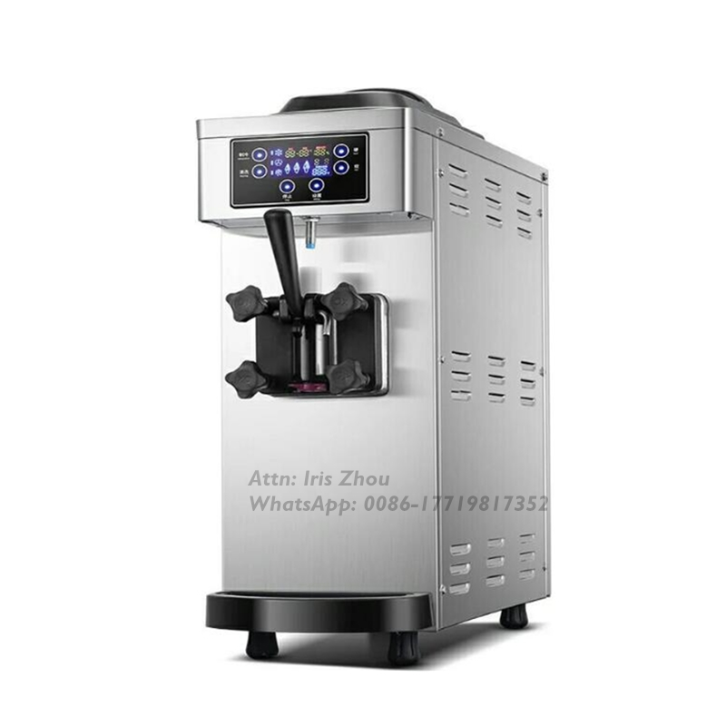 Stainless Steel Taylor Commercial Soft Ice Cream Machine For Sale With 8.5L Cooling Cylinder Volume
