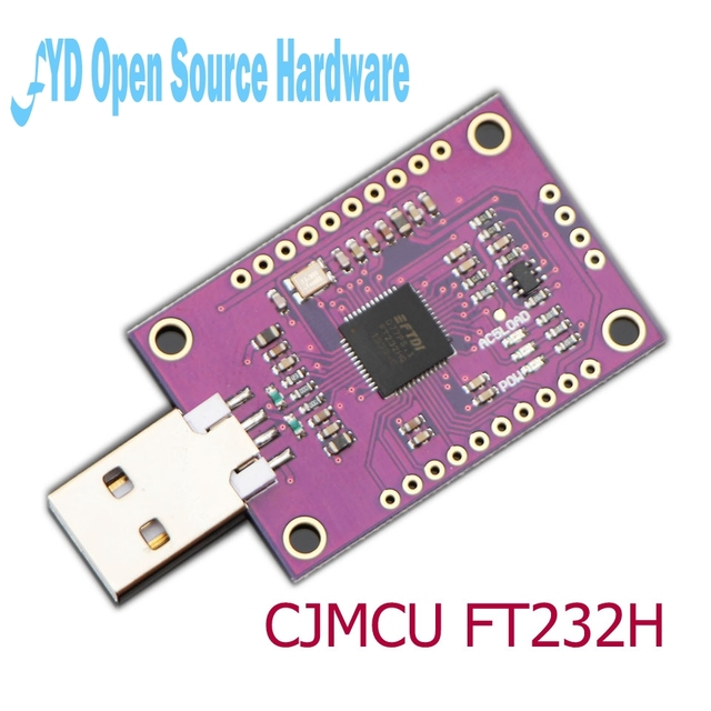 US $7 44 11% OFF|CJMCU FT232H High Speed Multifunction USB to JTAG UART  FIFO SPI I2C-in Integrated Circuits from Electronic Components & Supplies  on
