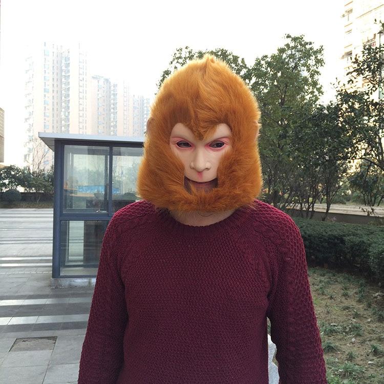 Monkey King maskë Halloween / Christmas Costume Theater Prop Latex - Furnizimet e partisë - Foto 3