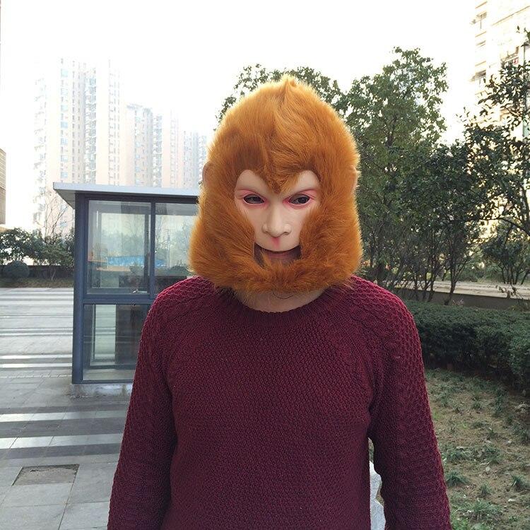 Monyet Raja topeng Halloween / Krismas Kostum Teater Prop Latex - Barang-barang untuk cuti dan pihak - Foto 3