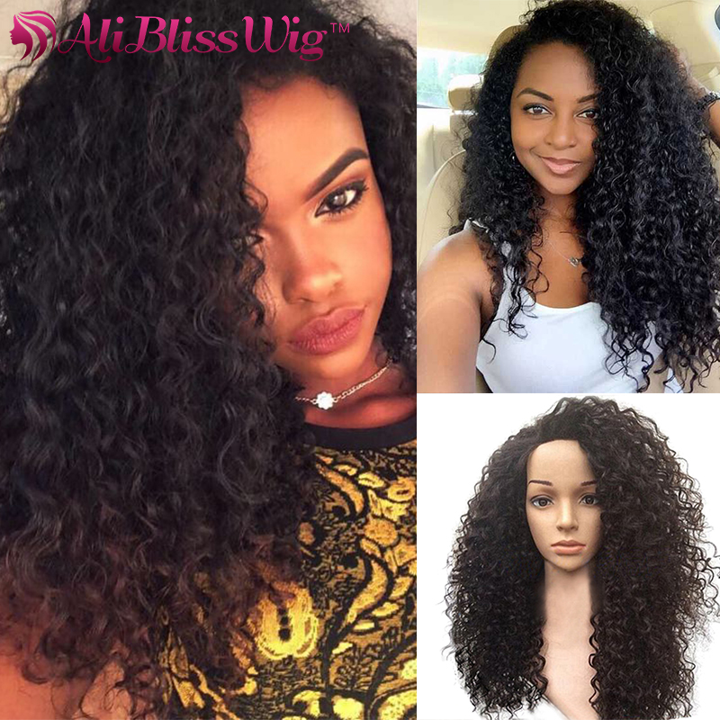 Affordable Curly Wig Glueless Full Lace Human Hair Wigs For Black Women  Brazilian Virgin Human Hair Wig Curly Front Lace Wigs 12c0dc6c0d