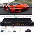 YOUTOING YT-BOX4X4 LCD Контроллера Видеостены HDMI VGA AV USB Процессор 4x4 Девять изображений шить image processor 16TV 1080 P