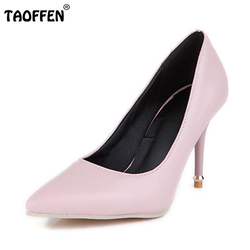 Size 32-47 Spring Summer New Fashion Star Pointed Toe Office Ladies High Heels Shoes Women Pumps Thin Heels Slip On Shoes summer new large size denim shorts female high waist jeans thin 2017 new fashion women slim belly short pant