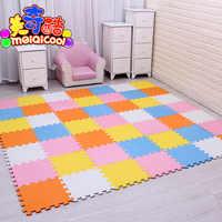 Tapis de Puzzle de jeu de mousse d'eva de bébé 18, 24or36/lot tapis de plancher de tuiles d'exercice de verrouillage pour l'enfant, chaque gymnase de 29X29cm0. 8 cm d'épaisseur