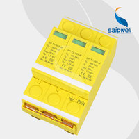 40KA Voltage Protector, Surge Protector,Surge Protective Device 4P,SP T2 385 M CE UL Approval