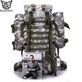 Baijiawei 80l gran capacidad mochila trekking mochilas hombres mochilas camuflaje multifunción mochila de viaje con protector contra la lluvia