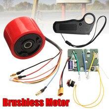 Electric Skateboard Hub Motor Kit with Hall sensor wireless 2.4G remote control transmission For DIY Electric Skate Board Engine
