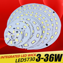 3pcs led pcb SMD5730 3w 7w 14w 12w 18w 24w 36w integrated Transformation board  White/ Warm White Light Source For LED Bulb