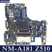 Купить с кэшбэком KEFU ZILZA NM-A181 Laptop motherboard for Lenovo Z510 Test original mainboard HM86