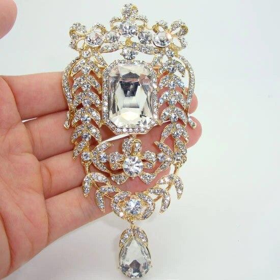 Super Broche /& Pendentif Art Nouveau Une Branche de Mini Fleur Nacre Perle de Culture Blanche Veritable Mariage Vintage Style Plaqu\u00e9 Or 18K