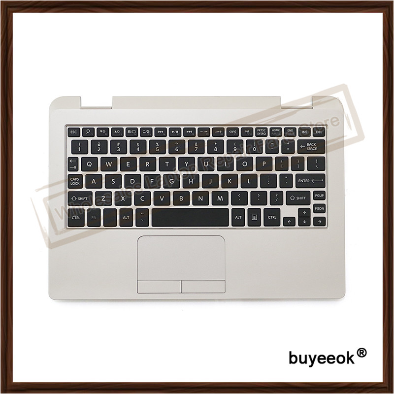 цены  Original 95% New Topcase For TOSHIBA Radius 11 L15W L15W-B1208 With US Keyboard Touchpad Laptop Keyboard