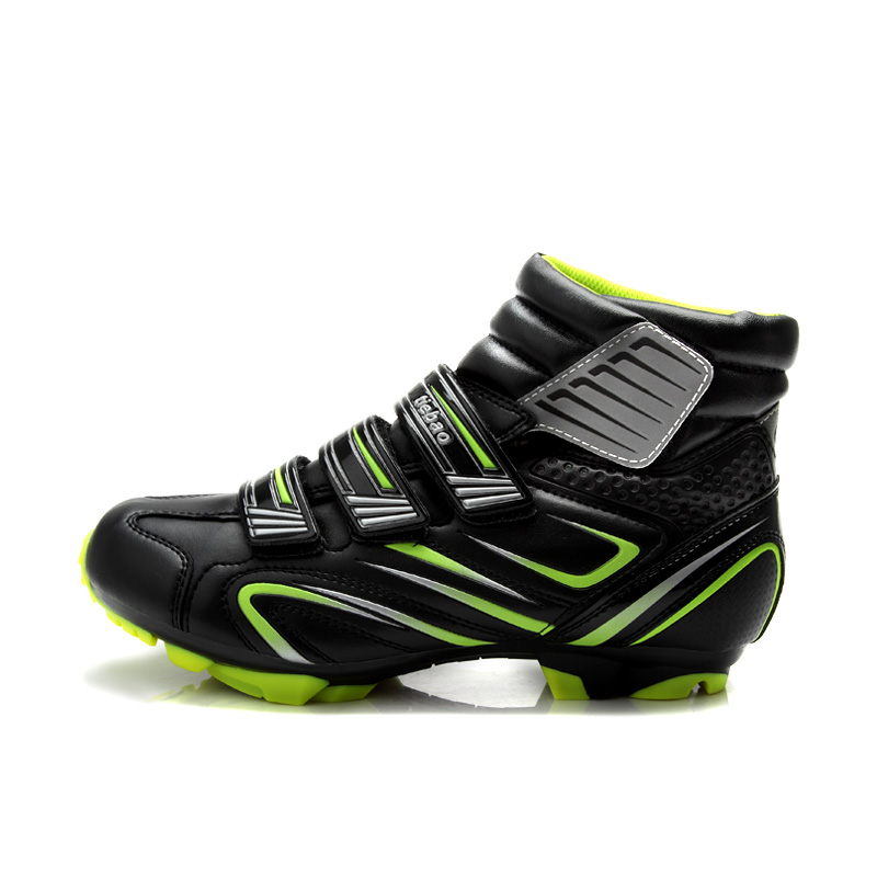 TIEBAO 5-1430 Fall MTB Cycling <font><b>Shoes</b></font>, Windproof SPD Bicycle <font><b>Shoes</b></font> AutoLock/SelfLock Bike <font><b>Shoes</b></font>