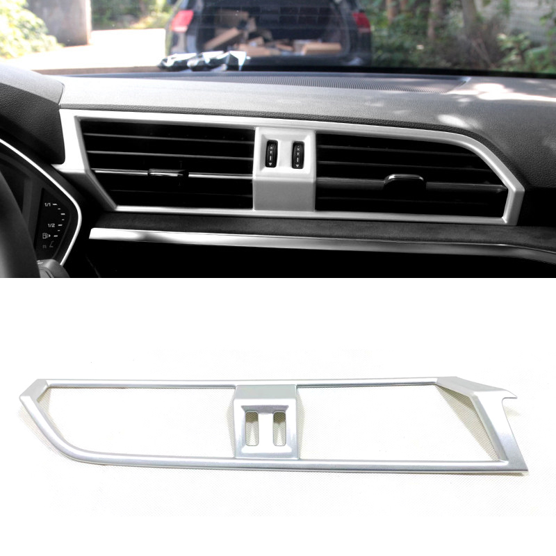 Accessories abs Interior Upper Air Vent Outlet Cover Trim For Audi Q3 2012-2017