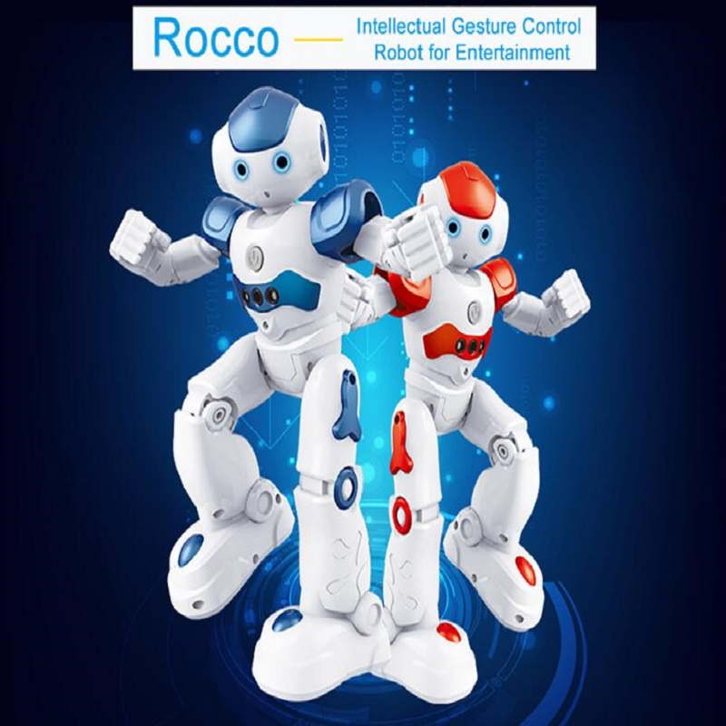 Intelligent remote control robot multi-functional dance singing interactive electric robot children toys Rc humanoid Robot ems dhl shipping wltoys f8 dobi intelligent humanoid voice control multifunction rc diy robot for children gifts
