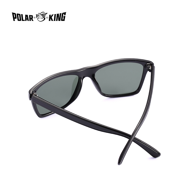 POLARKING 320 Retro Polarized Sunglasses Driving Fishing