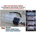 Для Hyundai Solaris/Verna Пневмомускул/Grand Авега Хэтчбек умные Треков Чип Камеры HD CCD Интеллектуальный Динамический Вид Сзади камера