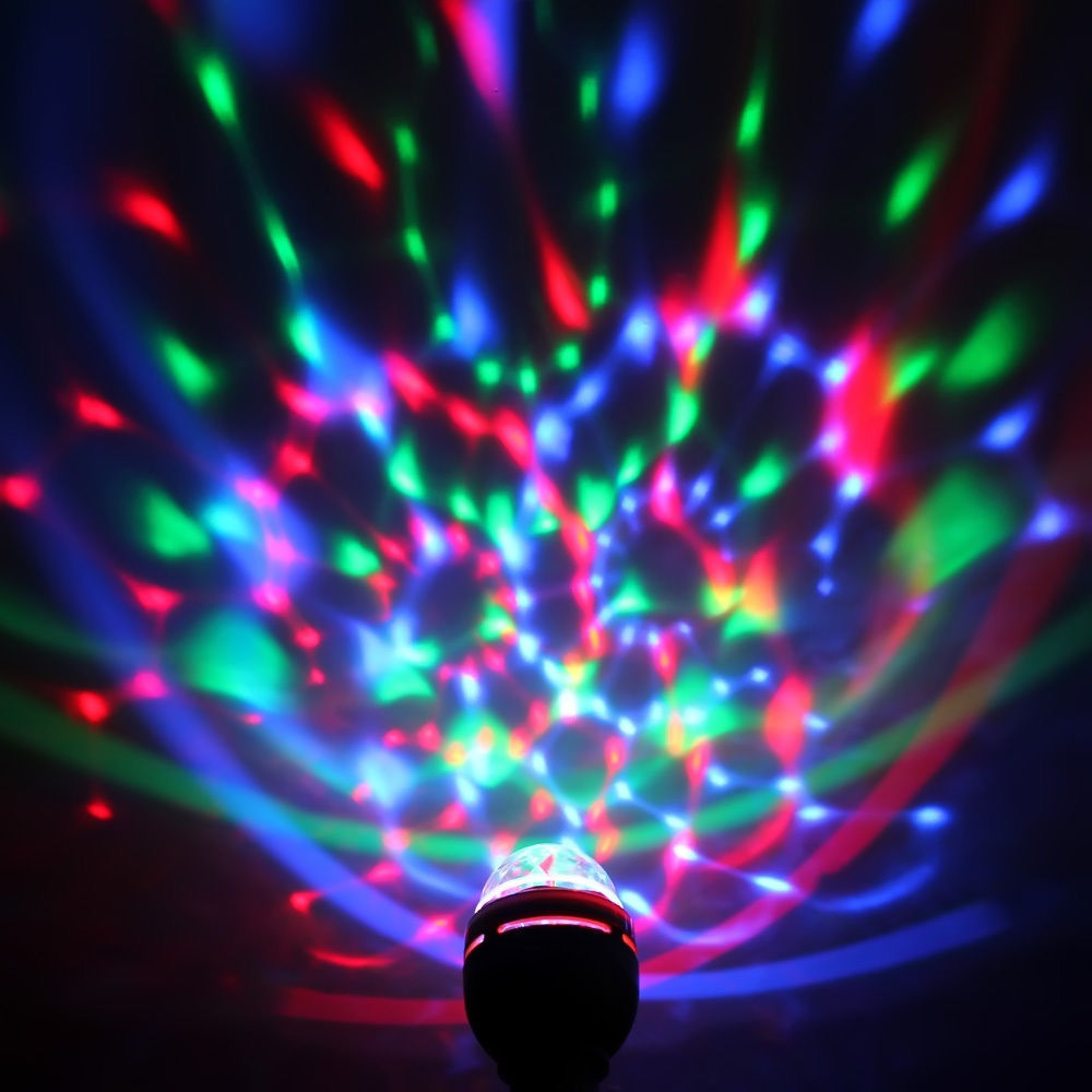 Bulb Stage Light Atmosphere Lamp Dance Crystal Ball LED Party Disco DJ Lighting Fixture Decoration Interior Design Bar KTV
