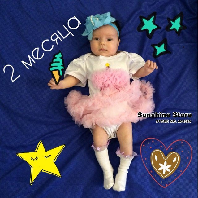 First Birthday Girl Tutu Set Newborn Clothing Ruffle Baby Clothes Baby Girl Christening Gowns Party Dress Headband Shoes Set 2