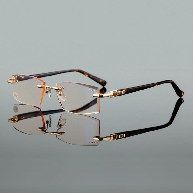 visokokakovostno rezanje presbyopia leče kvadratna očala za branje - Oblačilni dodatki - Fotografija 2