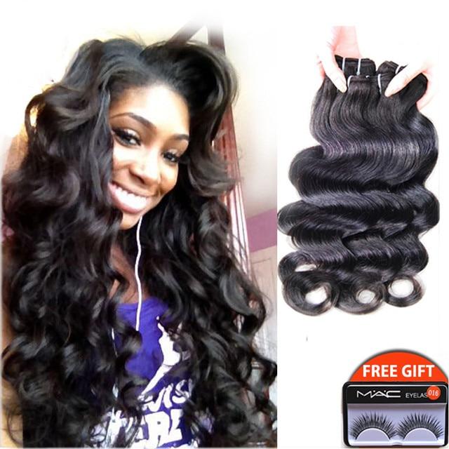 Get A Free 12 Inch Brazilian Virgin Hair Brazilian Body Wave Hair