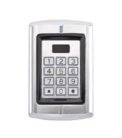 Waterproof Background Light Door Bell Metal Case Keypad ID EM Access Control System RFID Proximity Card Reader