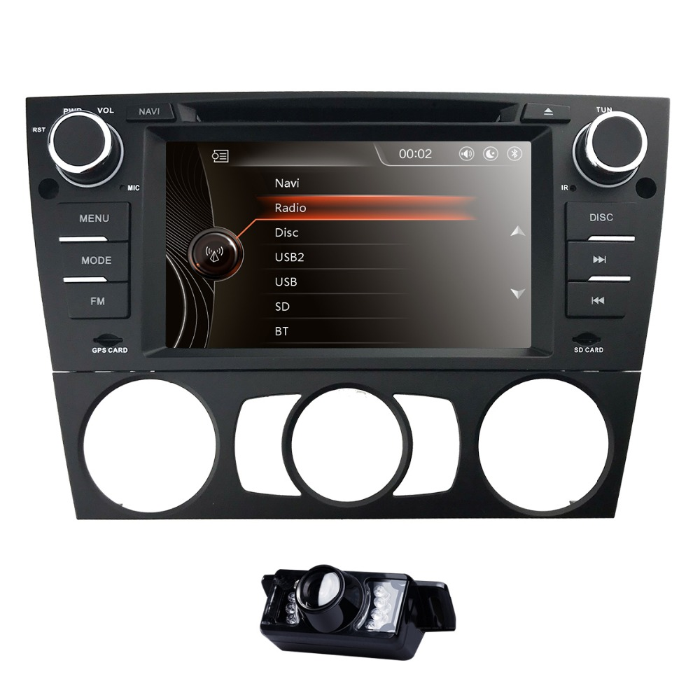 7 Double 2Din Car Stereo DVD Player Navigation for BMW E90 with GPS Bluetooth DAB USB