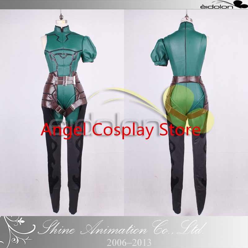 Anime Fate/Zero Lancer Cosplay Costume Any Size Free Shipping NEW