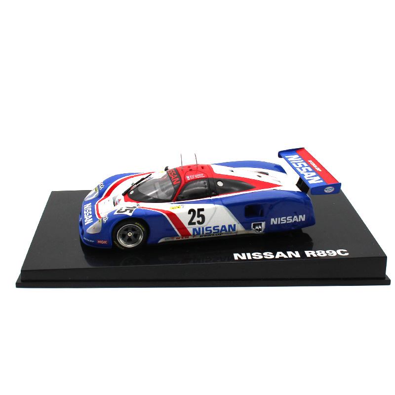 LEO 1:43 Alloy Car Model Nissan R89C Racing Series Collection Decoration Kids Toys The Best Gift For Children