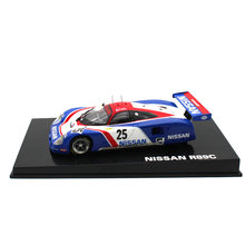LEO 1:43 Alloy car model Nissan R89C Racing Series Collection Decoration kids toys The best gift for children(China)