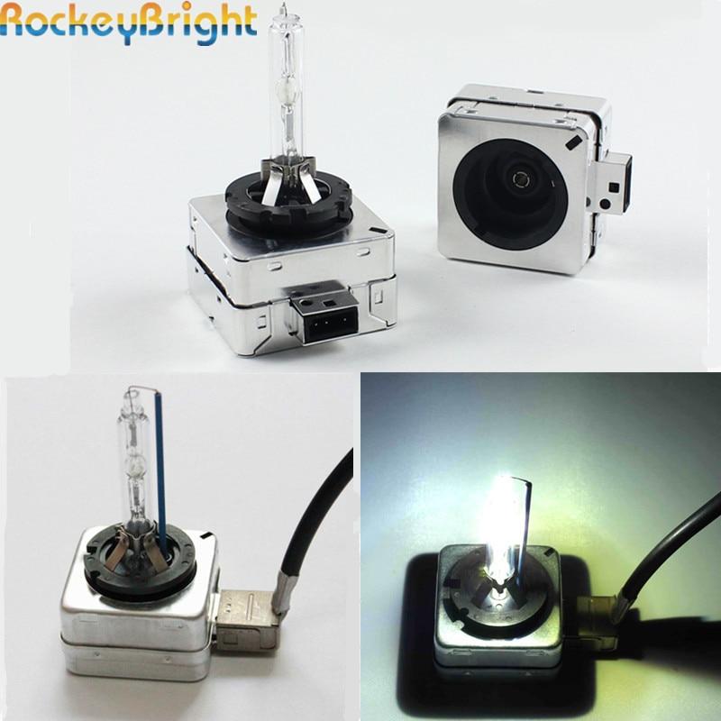 Rockeybright D1S gizli faralar üçün gizli ampul adapter xenon baş - Avtomobil işıqları - Fotoqrafiya 5