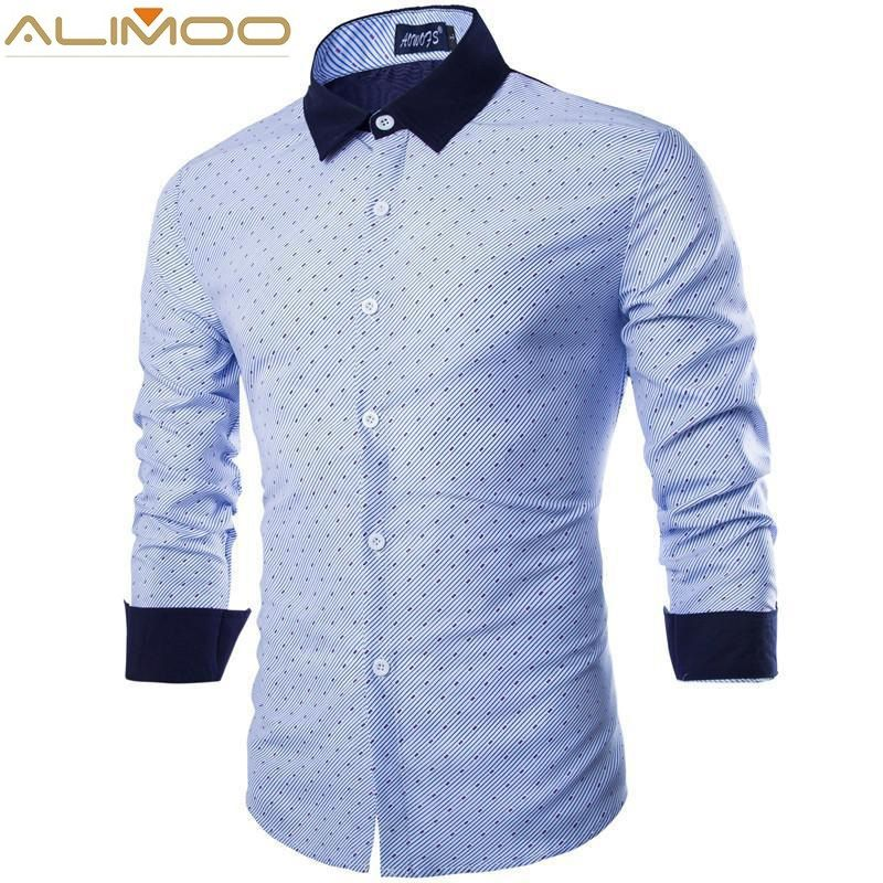 Men Unique Long Sleeve Casual Shirt Promotion-Shop for Promotional ...