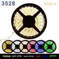 IP60 IP65 5M 300 Leds Non-Waterproof SMD 5050 3528 Led Strip Lights 60 leds/M Waterproof 5050 Led String bulb