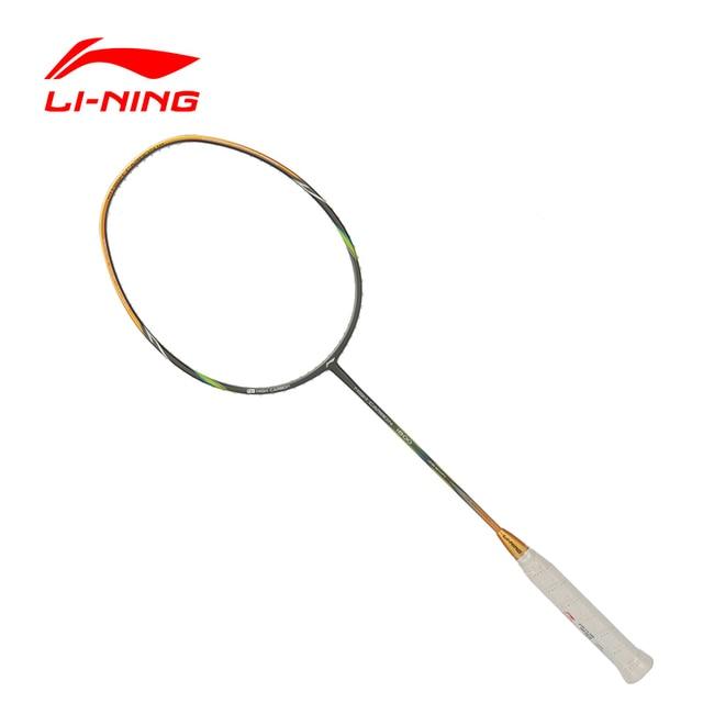 Li-Ning Professional Badminton Rackets Offensive Type HC1800 Carbon Single Racket  AYPL112 ZYF109