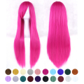20 Colors 80 cm Long Cosplay Wig Full Cosplay Hair Wigs