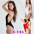 Traje de baño de Una Sola Pieza 2017 Nueva Europa y América Sexy de Una Pieza de Las Mujeres Bikini traje de Baño Tamaño Caliente de La Venta En China S ~ XXL