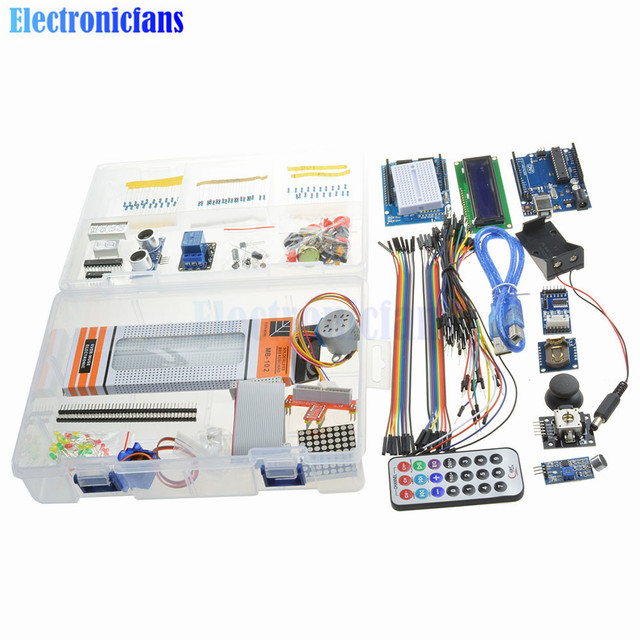 1Set Starter Kit Ultimate Version For Arduino UNO R3 Nano Mega2560