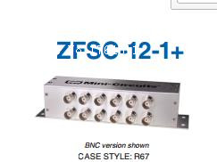 [BELLA] Mini-Circuits ZFSC-12-1+ 1-200MHz Twelve BNC Power Divider