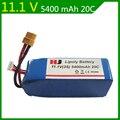11.1V 5400mAh Authentic WLtoys X380V303V393 CX-20 four-axis aircraft 11.1V 5400mAh Lithium Battery