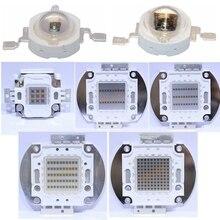 Высокомощный светодиодный чип IR COB интегрированный 730Nm 850Nm 940Nm 3 Вт 5 Вт 10 Вт 20 Вт 30 Вт 50 Вт 100 Вт излучатель светильник