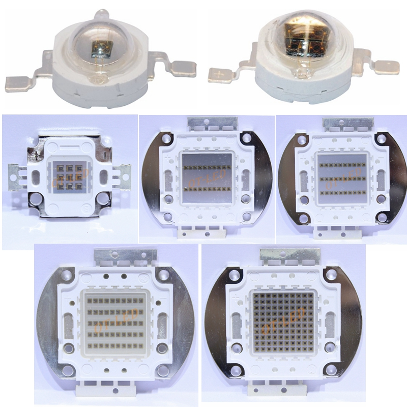High Power LED Chip IR COB Integrated 730Nm 850Nm 940Nm 3W 5W 10W 20W 30W 50W 100W Emitter Light Lamp Diode Components