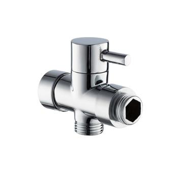 Chrome Brass 1/27/8 T-adapter 3 Ways Valve for Bathroom Shower Head Diverter Bath Toilet Bidet Sprayer Shower Head Dls HOmeful dls t16 page 7